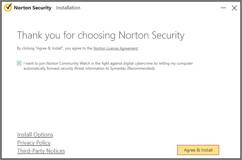 norton antivirus for my computer