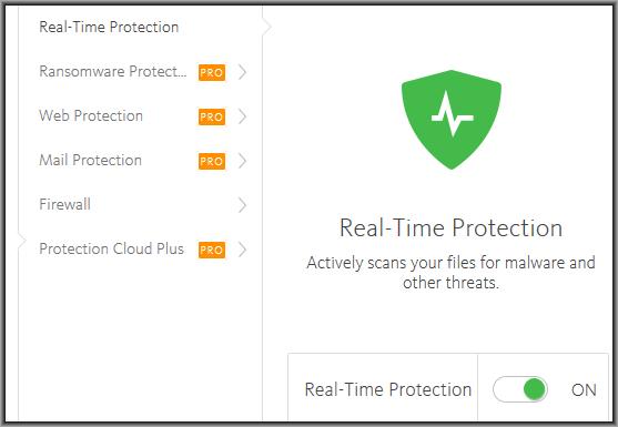 avira free tem firewall