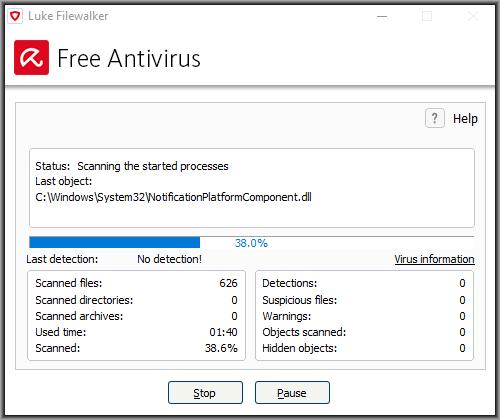 avira antivirus free online scan