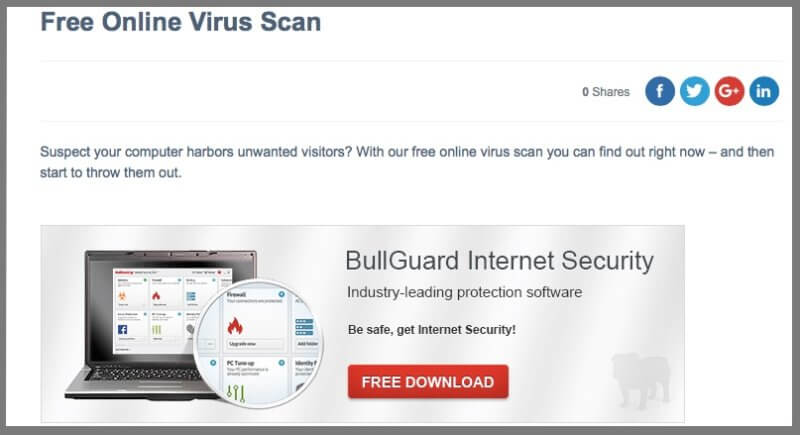 free online antivirus protection download