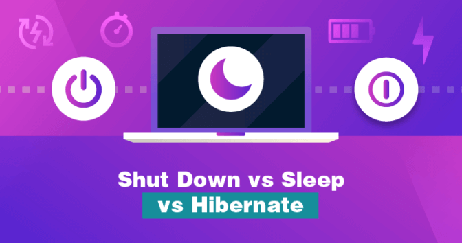 Should You Shut Down, Sleep, or Hibernate your Laptop? PC and Mac 2019