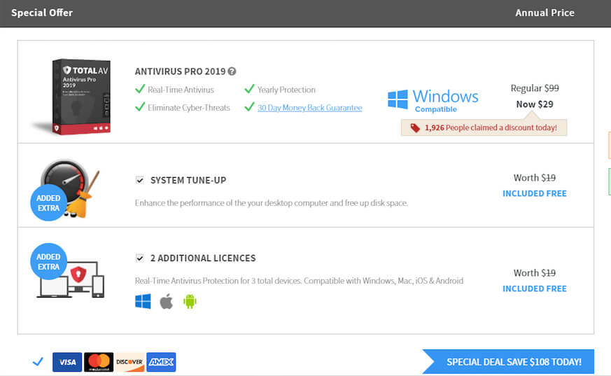 Total av pro 2019 full | Best Antivirus Software for Windows 10 in