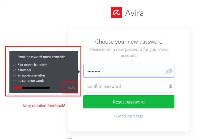 Avira Password Manager Ease of Use and Setup