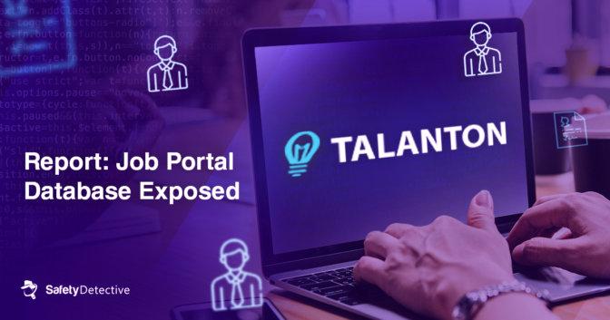 Report: Job Portal Database Exposed