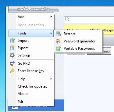 Sticky Password – จำนวนผู้ใช้ที่สามารถปรับแต่งได้มากที่สุด