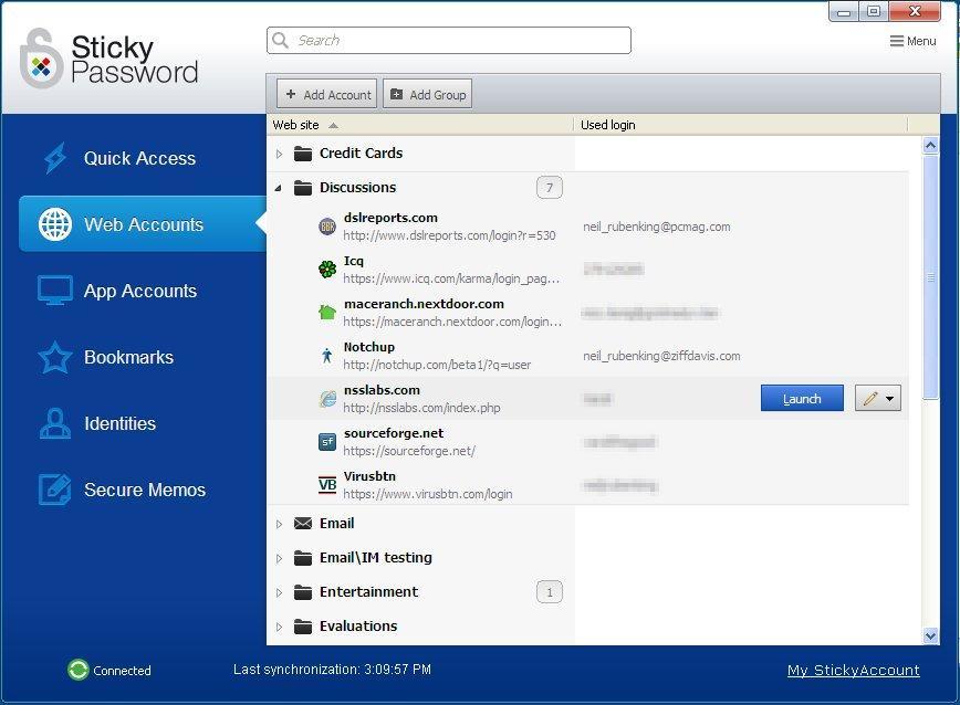 Sticky Password – أفضل العروض البسيطة