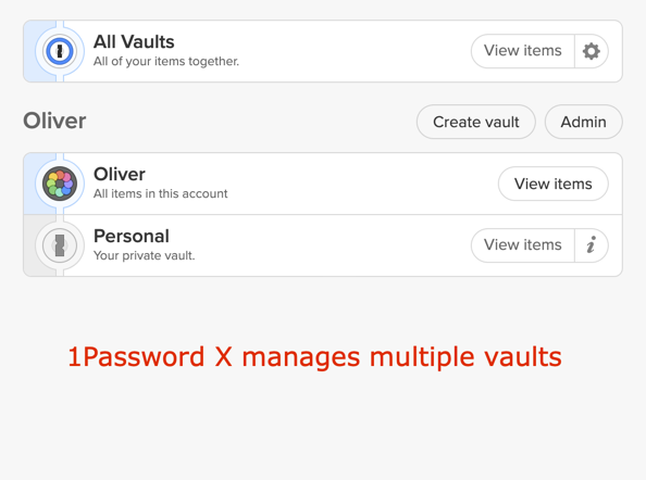 1Password – Idéal pour son Travel Mode